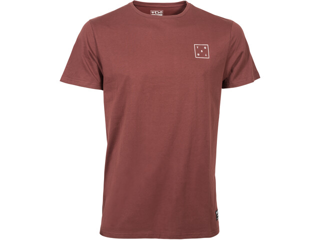 TSG Box T-Shirt Men oxblood